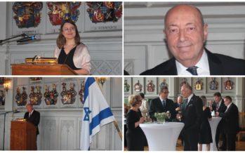 STORGALLERI: Ambassadör Dov Segev-Steinberg ordnade en högtidlig mottagning i Finland för att hedra Israel som fyllde 69 år