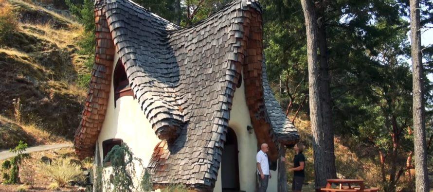 Speciella och unika hem i världen (Vol 1): Mystiskt hem på ön Vancouver i Brittiska Columbia + FOTON & VIDEO!