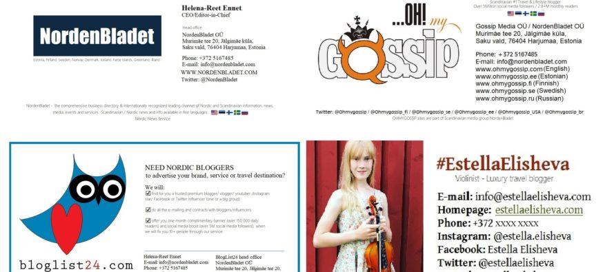 Helena-Reet: Förberedelser inför Resmässan i Finland 2018!