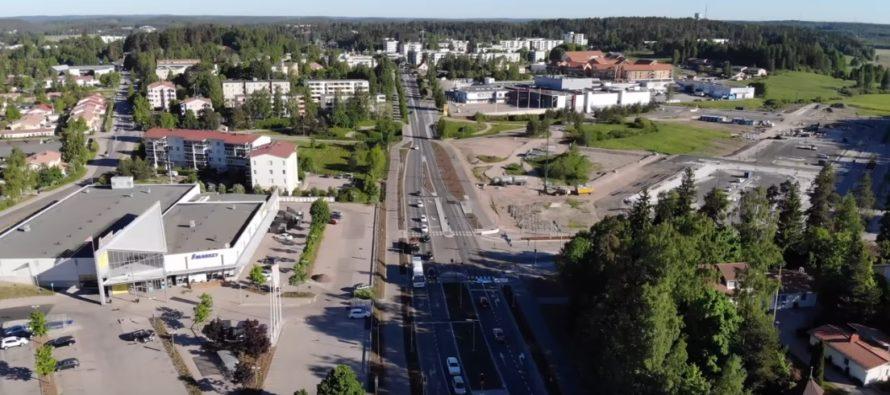 Nurmijärvi och Klövskog (finska: Klaukkala) i Finalnd + FOTON!