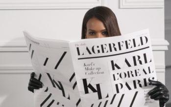 Det håller på att färdigställas en skönhetsserie av L'Oréal Paris och Karl Lagerfeld