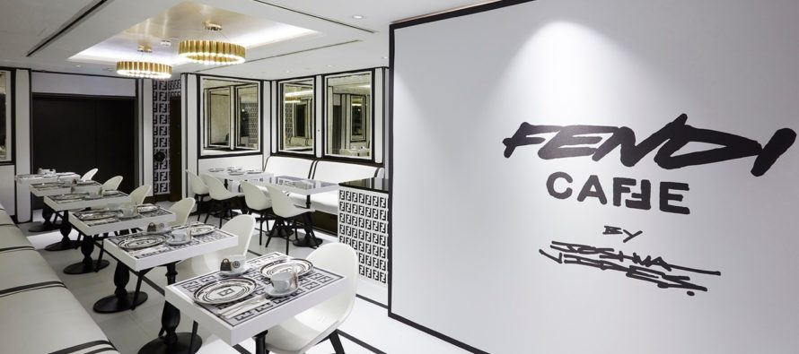 SE BILDERNA! Fendi Caffe pop-up kafé i Harrods varuhus i London