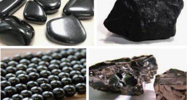 HÄLSOSAMT vattenelixir: Shungit är en helande kristall, som innehåller fulleren molekyler som renar vatten