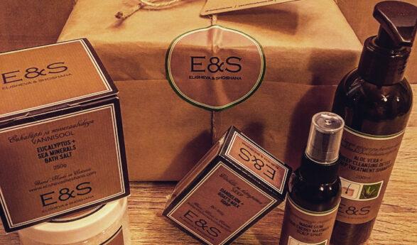 Årets lyxiga presentförpackning från Elisheva & Shoshana till ett värde av 57,70 euro finns redan att köpa och i ElishevaShoshana.com online-butik mer än 30% billigare!
