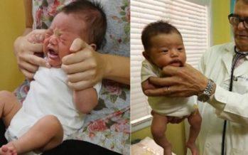 Barnläkare: Så här lugnar du ner ett gråtande barn på sekunder. Tipset fungerar varje gång! + VIDEO!